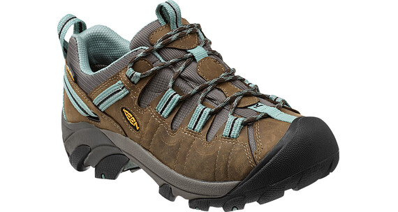 Keen W's Targhee II Shoes Black Olive/Mineral Blue